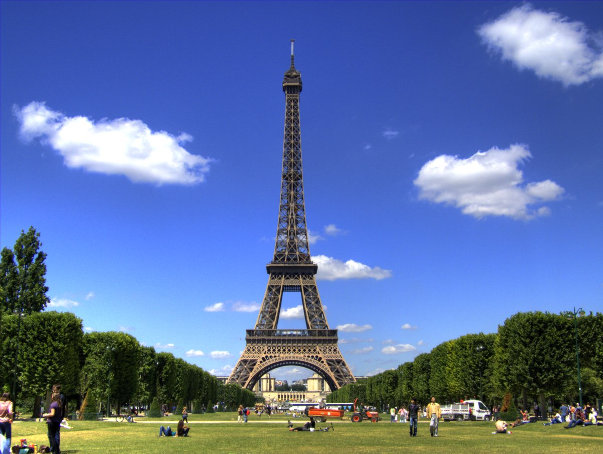 the eiffel tower the most visited paid monument in the. Black Bedroom Furniture Sets. Home Design Ideas