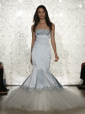 Gorgeous Mermaid Wedding Gown