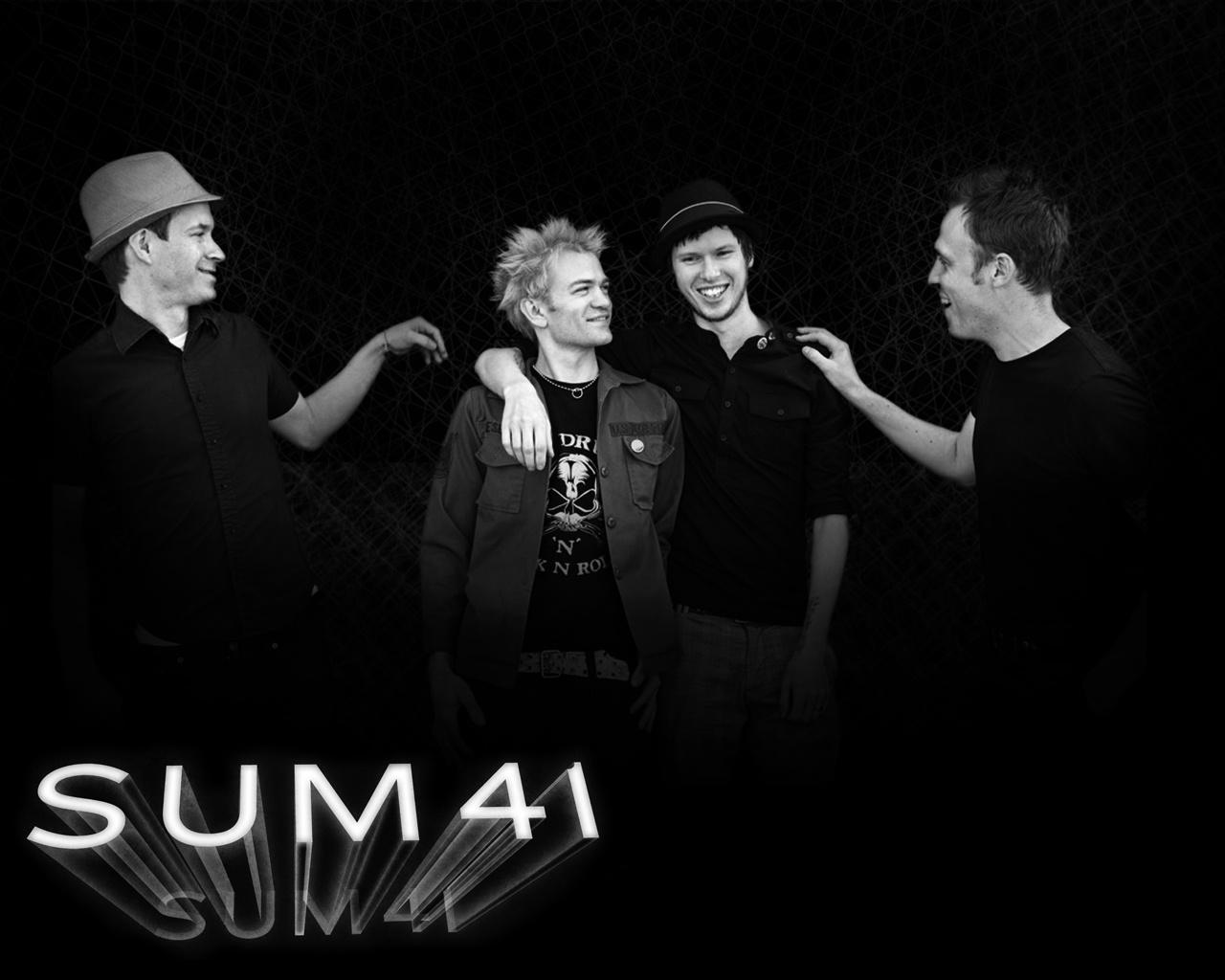 Rock Band Wallpapers Canadian Melodic Punk Rocks Sum 41