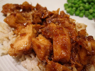 Mmm...Cafe: Honey Sauced Chicken