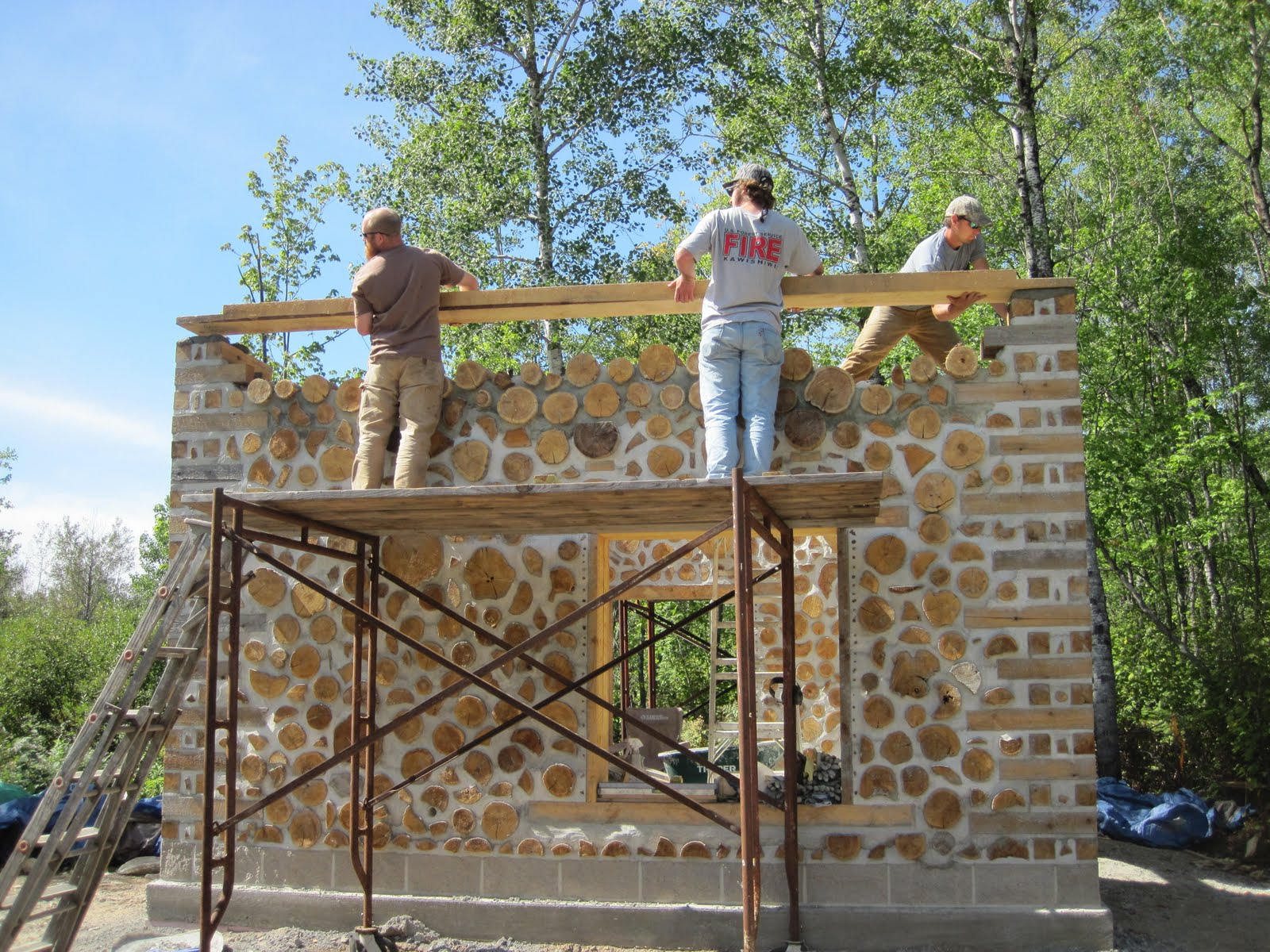 cordwood home plans find house plans