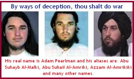 BB: ADAM YAHIYE GADAHN: A Jew who pretended to have converted to Islam assumed different aliases.