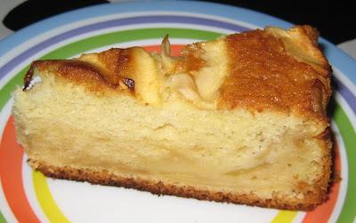Tros de pastís de poma