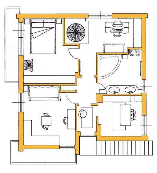 Una villa ed il feng shui blog arredamento - Feng shui arredamento casa ...