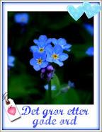 Tusen takk til Ida og Koselig-Koselig.