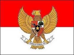Bendera Indonesia dan Garuda Pancasila