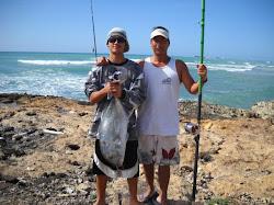 Aloha ulua fishing for Moana fishing pole