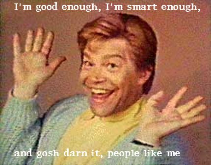 Image result for I am nice and warm and everyone loves me Al Franken