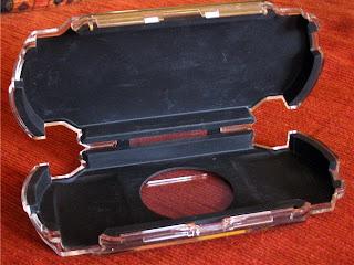 playgear pocket case ouvert et vide