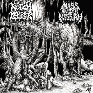 KROTCHRIPPER & MASS MURDER MESSIAH - Split (2010)