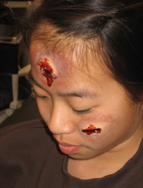 Grace FX: Gun shot wounds / deep gashes