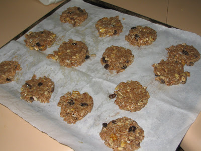 Grain-free &quot;oatmeal&quot; cookies