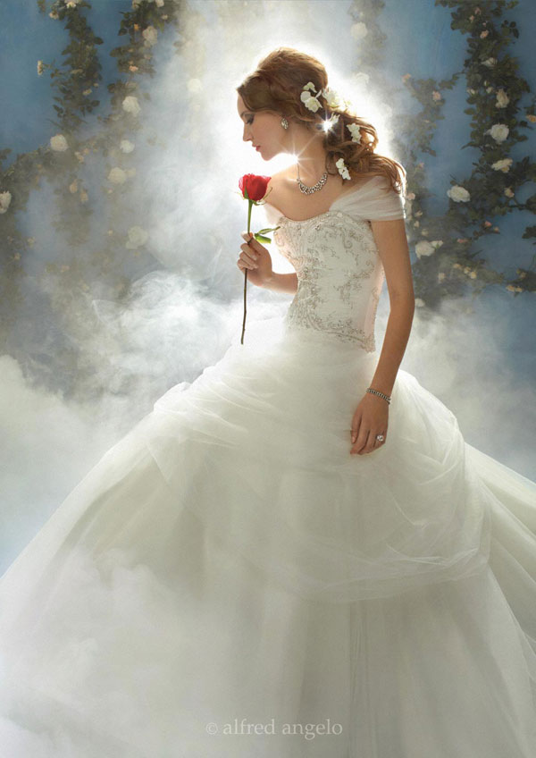alfred angelo disney wedding gowns