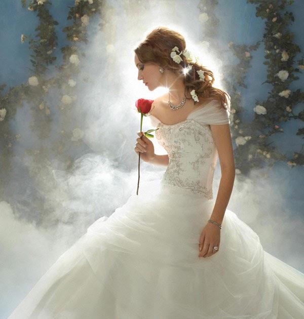 Disney Belle Wedding Dress: Ashley Hayward Events: Alfred Angelo