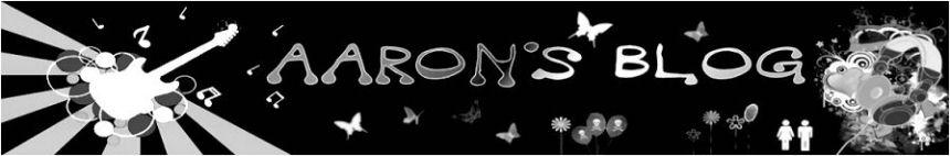 AARON's blog