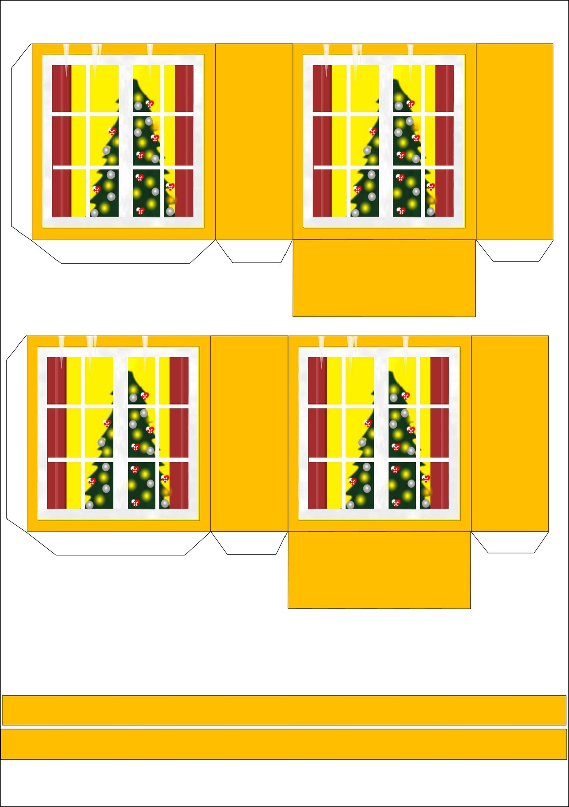 Новогодние шаблоны своими руками бумаги фото 5