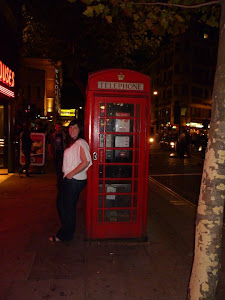 Walking around Covent Garden. Typical phone booth pic, lol.