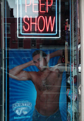 New Boy Butter Window in Chelsea Adult Store