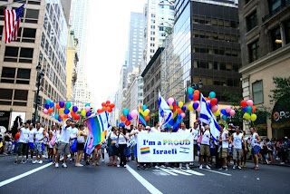 Amazing Photos of the Israeli Pride delegation to NY Pride Parade 6/27/10