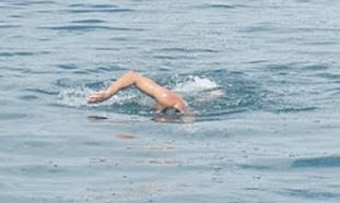 The Jerusalem Post: Israeli American to swim Sea of Galilee for charity