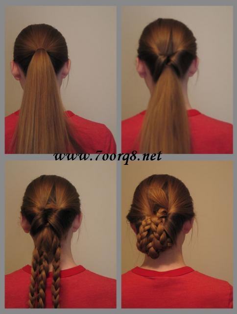خطوات تضفير الشعر للبنات فى المدرسه وا الضفائر لفرنسيه بالصور 8689_1242998666