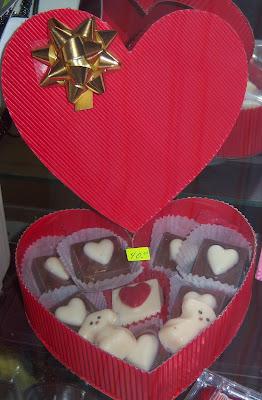 Karly Creativa: CHOCOLATES PARA SAN VALENTIN