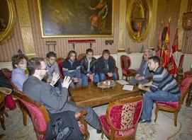 Recepción del Alcalde de Burgos a los Informáticos