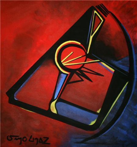 Pintura/ Acrílico. Sin Título - (pintura en Suiza) Feb.2009