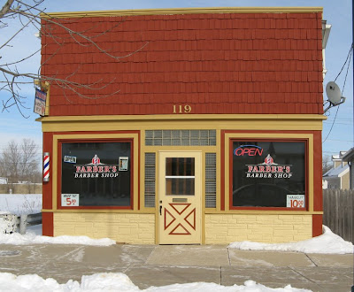 Barber Lake Wi : Pewaukee Daily Photo: Farber the Barber