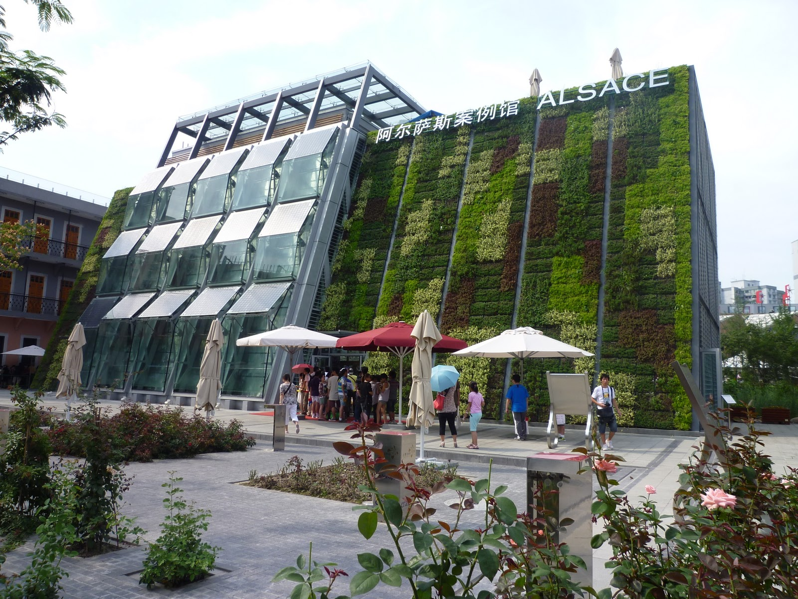 World expo 2010 shanghai china a green idea at alsace for Expo 2010 pavilions