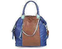 hayden harnett tamasin tote in blueberry colorblock