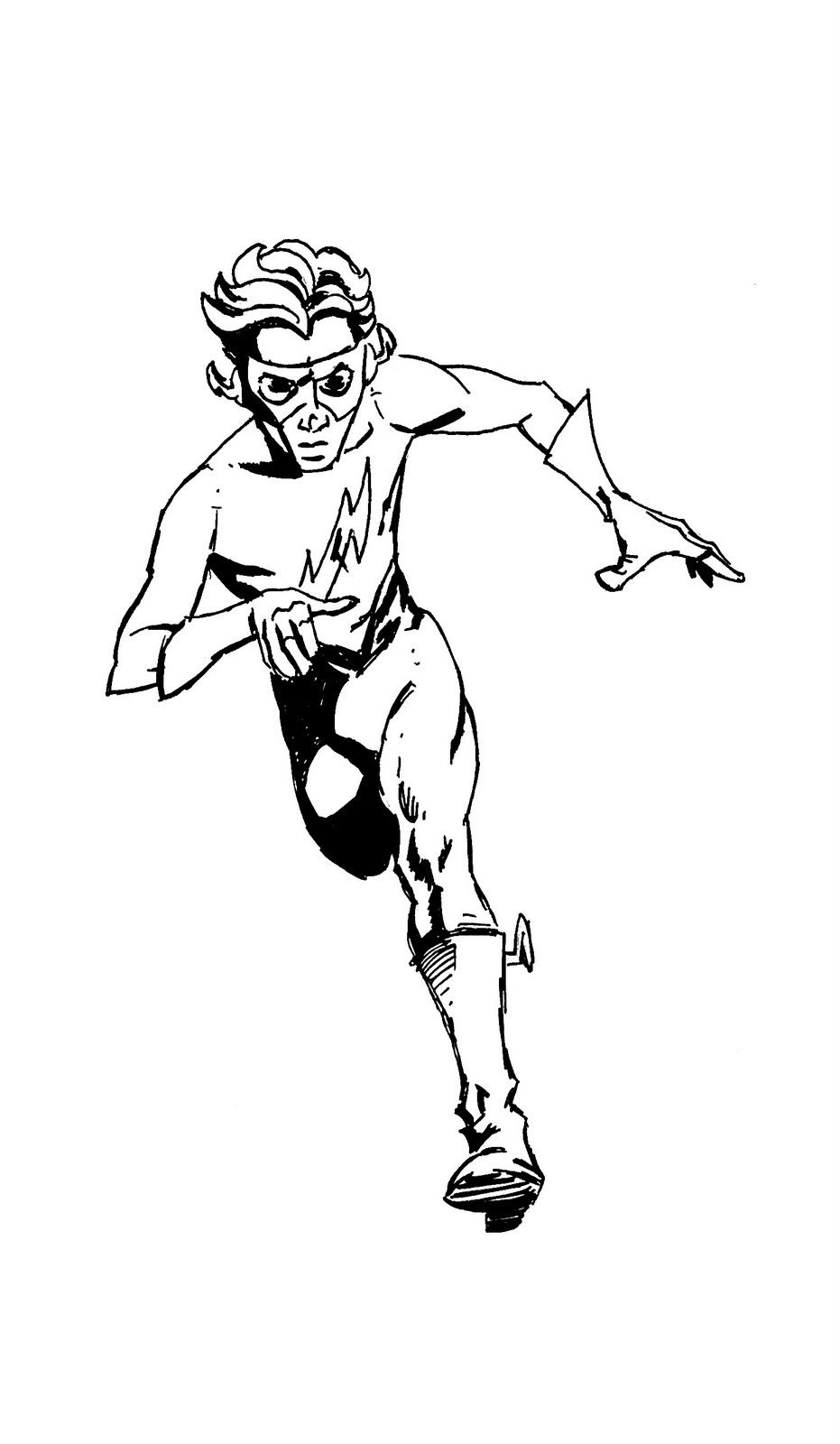 Kimo Yanceys Sketch Blog Kid Flash