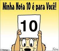 Meu 11* Selinho Minha Nota 10 é pra você!