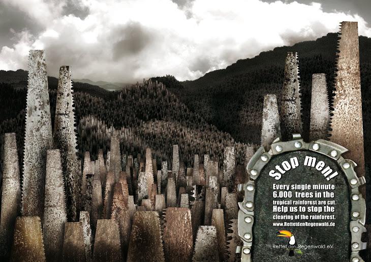 Rettet den Regenwald | All Social Ads