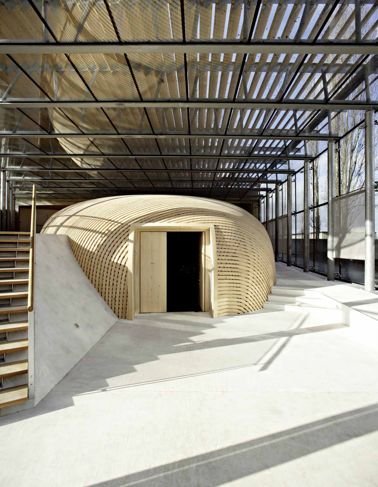Sacred space contemporary sacred architecture - Diaconesses de reuilly versailles ...