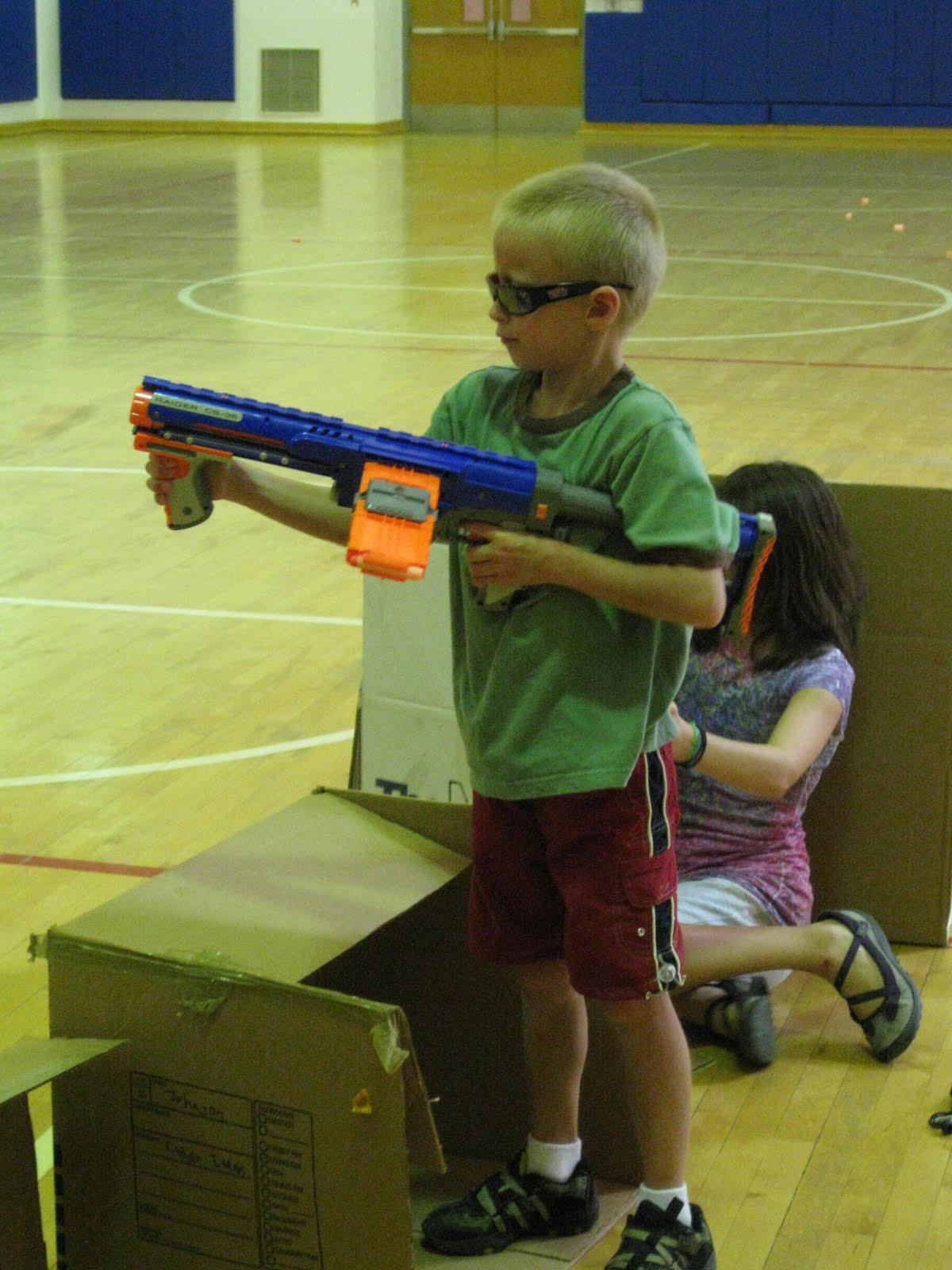 The Offner Adventures Nerf Gun Games