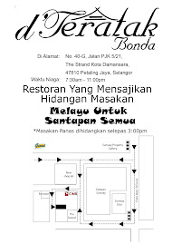 Flyers & Location Maps of D'Teratak Bonda