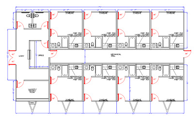 Manufactured home floor plans, Modular home floor plan