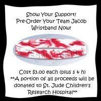 Team Jacob Wristband