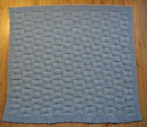 Simple Knits: Dream Weaver Baby Blanket