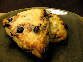 Arctic Garden Studio: Meyer Lemon and Dried Blueberry Scones