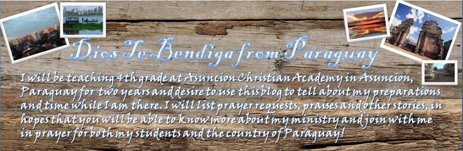 Dios Te Bendiga from Paraguay