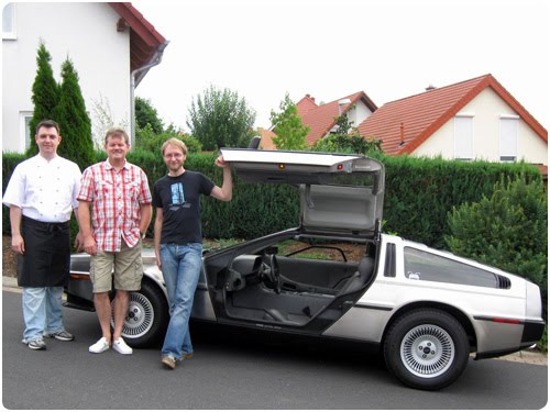 NKFOM, DeLorean, De Lorean, Back To The Future, BTTF