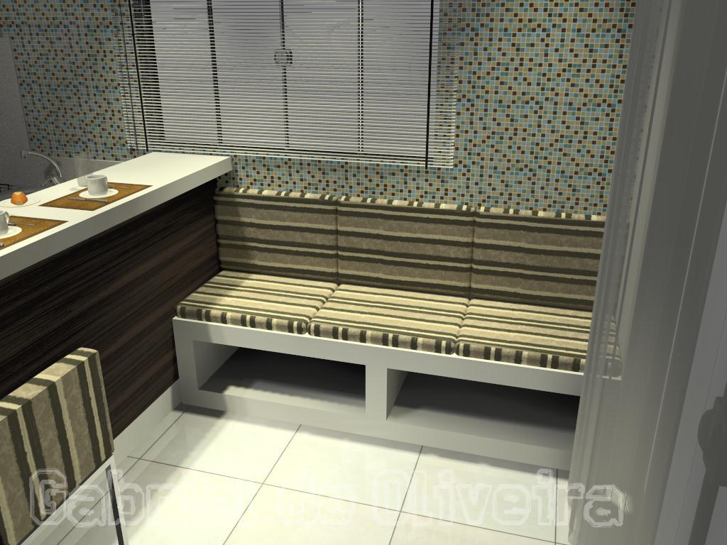 Projetos Gabriel Oliveira: Cozinhas compactas #8D903B 1024 768