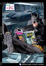 ja kinderen: altijd een boek bij je hebben!