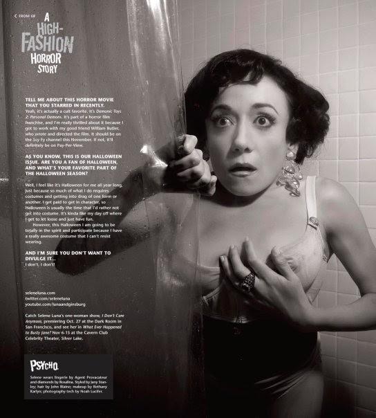 6cf5368d756b5 Fashion Sanity  Frontiers Magazine Horror Fashion Editorial With Selene Luna