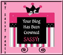 Sassy Pants Award