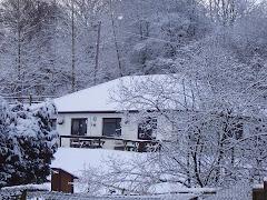 Tea Room on a snowy day
