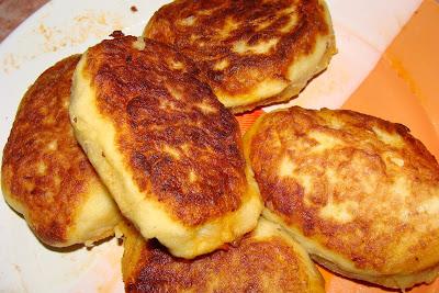 Пирожки картофельные с капустой