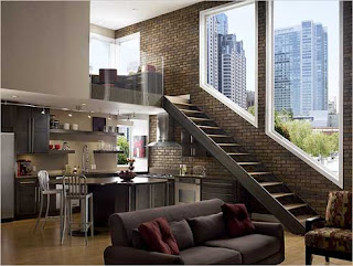 Modern interior design for apartment
